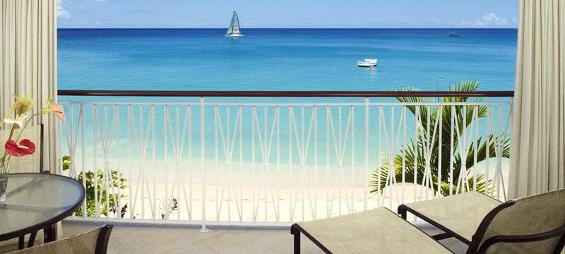 Ocean View balcony at Four Seasons Resort Koh Samui, Thailand
