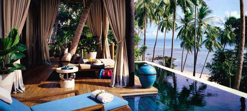 Luxury accommodation at Four Seasons Resort Koh Samui, Thailand
