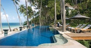 Relax poolside at Four Seasons Resort Koh Samui, Thailand