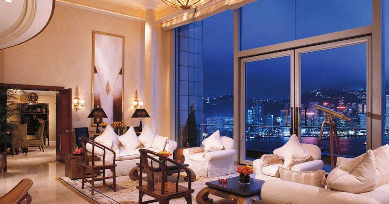 interior at The Peninsula Hong Kong