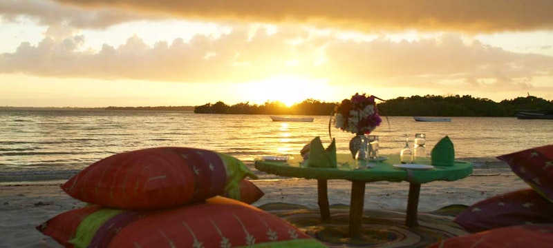 Beach at The Funzi Keys, Kenya