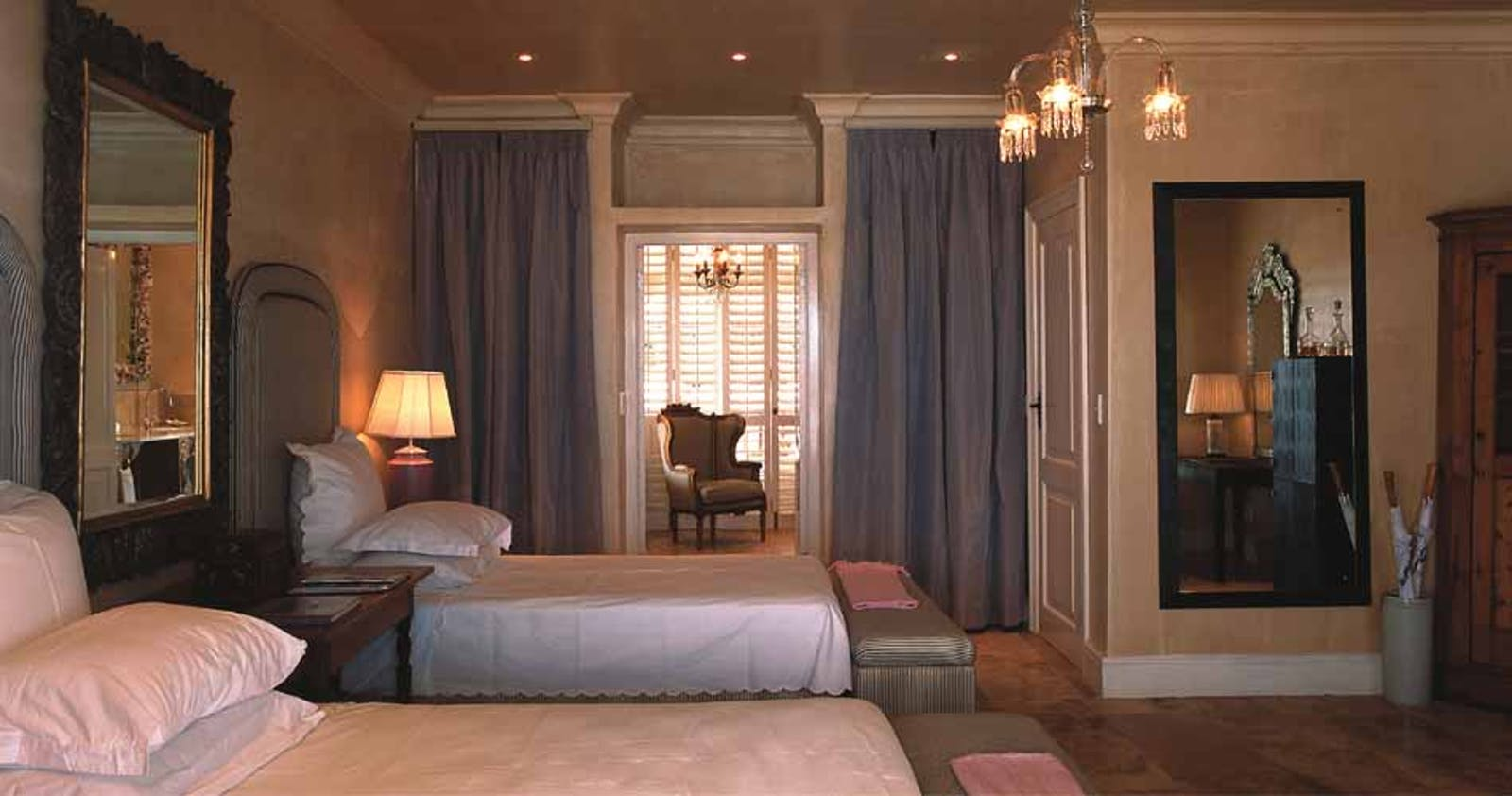 Bedroom at Birkenhead House