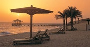 Beach at The Oberoi Sahl Hasheesh, Hurghada