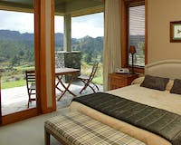 Bedroom at Treetops Lodge, Rotorua