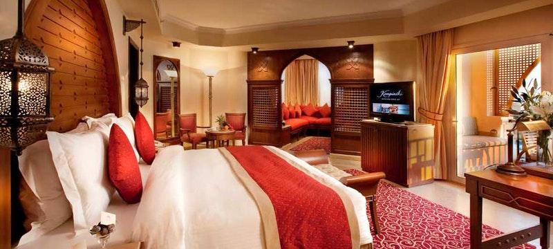 Junior Suite at Kempinski Hotel Soma Bay, Egypt