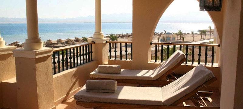 Balcony at Kempinski Hotel Soma Bay, Egypt