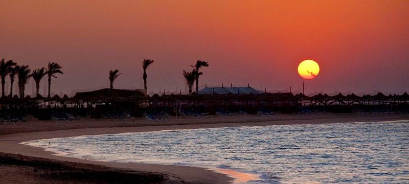 Beach at Kempinski Hotel Soma Bay, Egypt