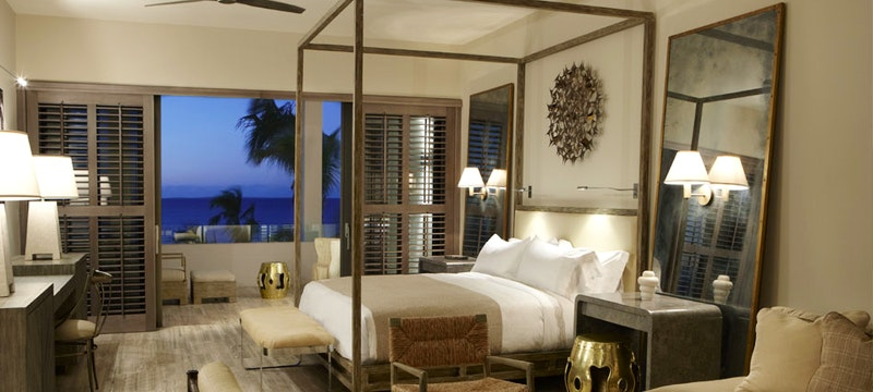 Villa bedroom at Viceroy, Anguilla