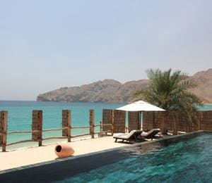 Pool at Private Retreats and Reserve at Six Senses Zighy Bay