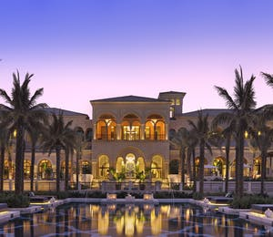 Exterior of the Beach Villas at One and Only The Palm