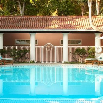 Pool Area at Hotel Bel-Air