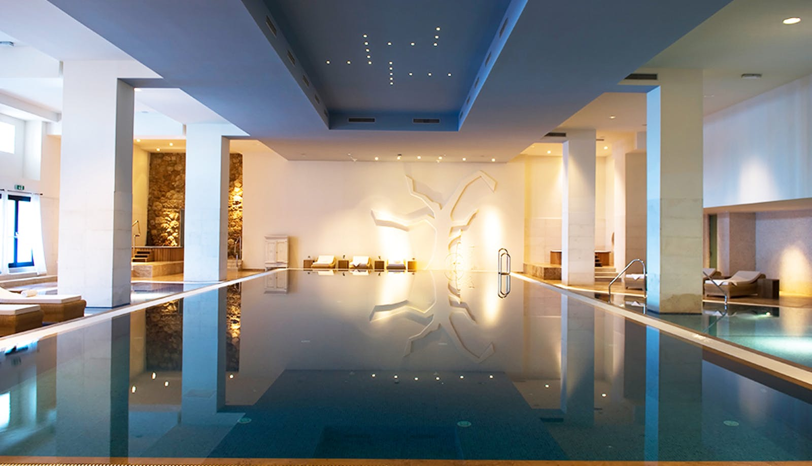 Indoor Pool Area at Hotel Excelsior, Dubrovnik, Croatia