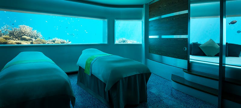 Under Water Spa at PER AQUUM Huvafen Fushi, Maldives