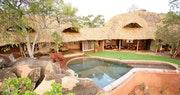 Luxury cottage at Elsa's Kopje, Kenya
