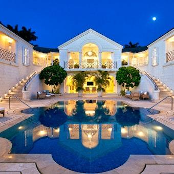 Villa Exterior at Villa Illusion, Sugar Hill, Barbados