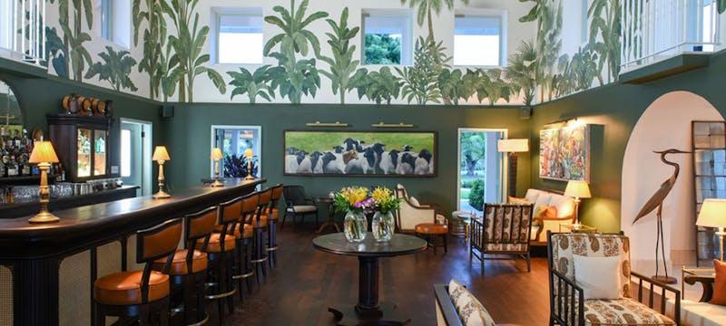 Estate House Bar at Jumby Bay, A Rosewood Resort, Antigua