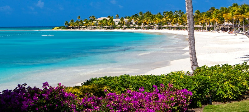 Beach at Jumby Bay, A Rosewood Resort, Antigua