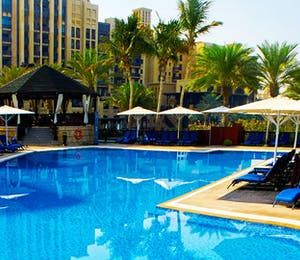 Pool Area at Jumeirah Mina A'Salam, Dubai