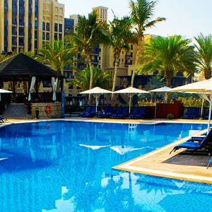 Pool Area at Jumeirah Mina A
