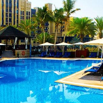 Pool Area at Jumeirah Mina A