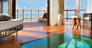 Inside the Water Villas at Jumeirah Vittaveli, Maldives