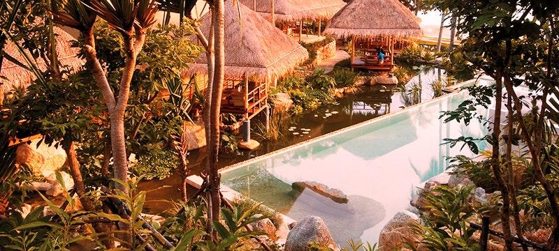 Pool Area at Kamalaya, Koh Samui