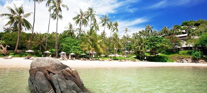 Beach at Kayalaya, Koh Samui