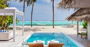 Pool View at Kanuhura Maldives