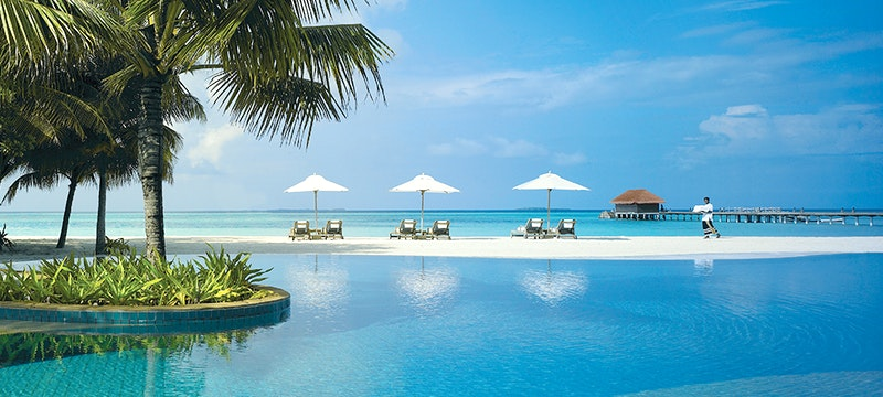 Main Pool at Kanuhura, Maldives