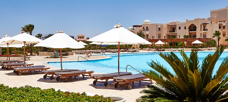 Pool at Kempinski Hotel Soma Bay