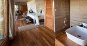 Luxury en-suite bedroom at Kwetsani Camp, Africa