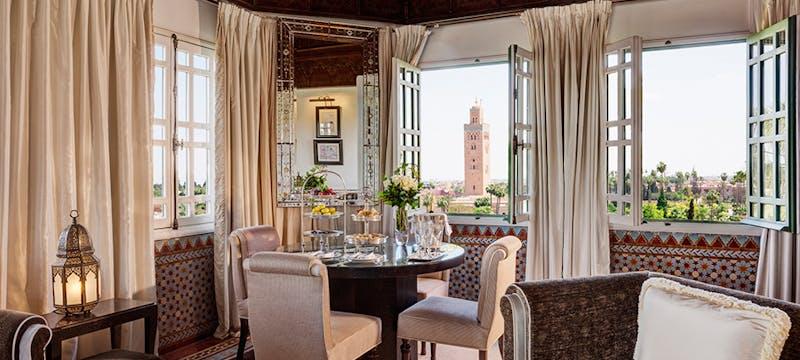 Dining at La Mamounia, Marrakech