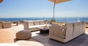 Terrace at La Reserve Ramatuelle, Riviera