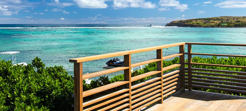 Sea Overview at Le Guanahani, St Barths