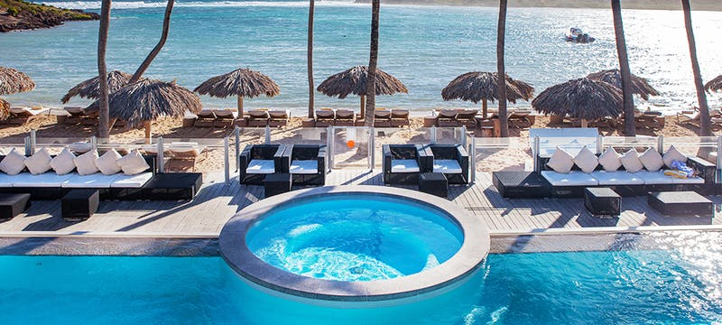Pool Area at Le Guanahani, St Barths