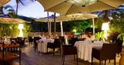 Dining at Le Guanahani, St Barths