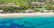 Ariel view of Forte Village beach