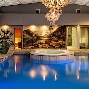 Indoor Pool at Majeka House