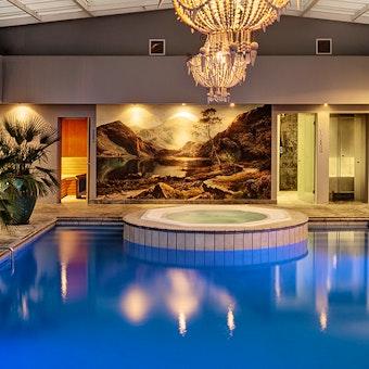 Indoor Pool at Majeka House