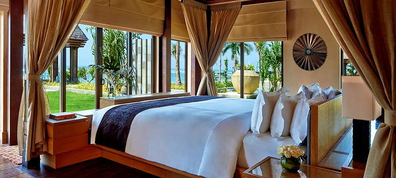 Bedroom at The Ritz Carlton Bali