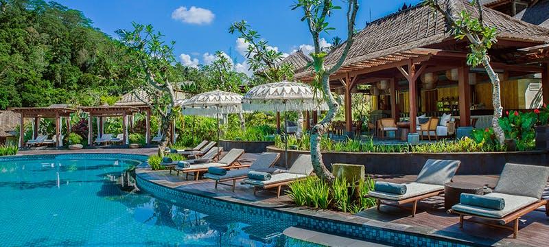Pool Bar at Mandapa A Ritz Carlton Reserve