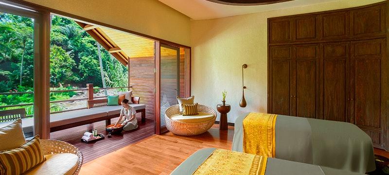 Spa Treatment Room at Mandapa A Ritz Carlton Reserve