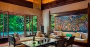 Two Bedroom Villa Living room at Mandapa A Ritz Carlton Reserve