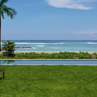 Pool area at The Ritz Carlton Bali