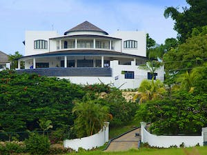 Exterior View of Martello House, Barbados