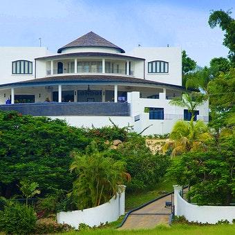Exterior View of Martello House, Barbados