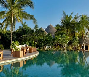 Pool Area at Milaidhoo, Maldives