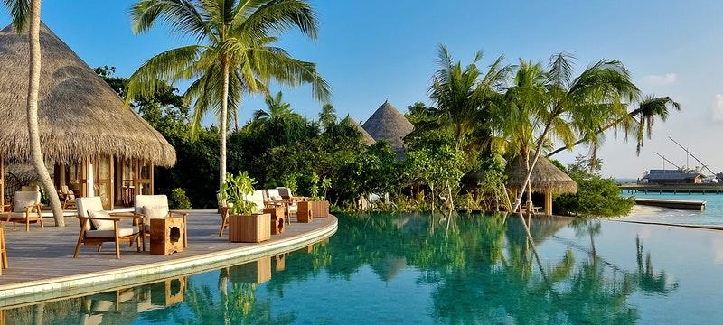 Pool Area at Milaidhoo, Maldives