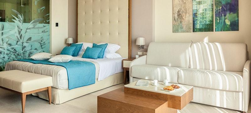 Bedroom at Miraggio Thermal Spa, Halkidiki