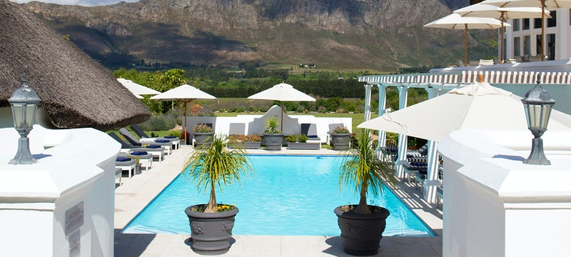 Outdoor Pool at Mont Rochelle